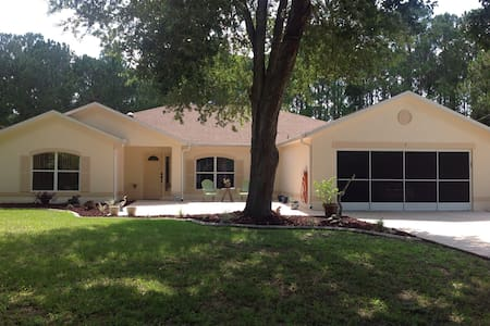 Large, pet friendly pool house. Bikers Welcome!! - Palm Coast