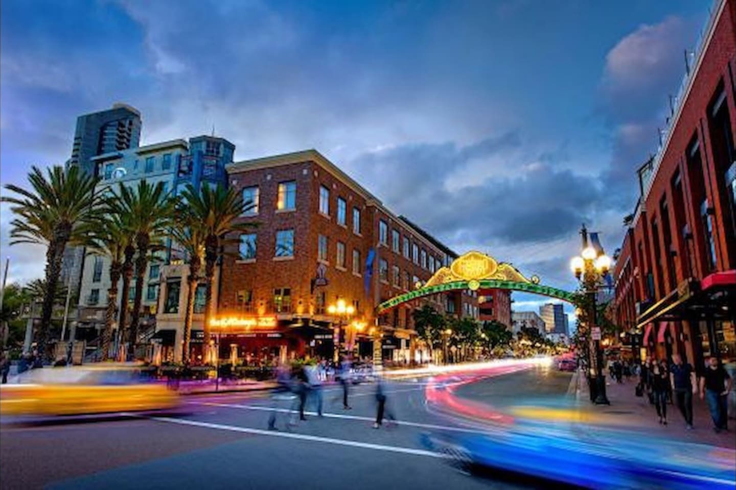Close to the Gaslamp