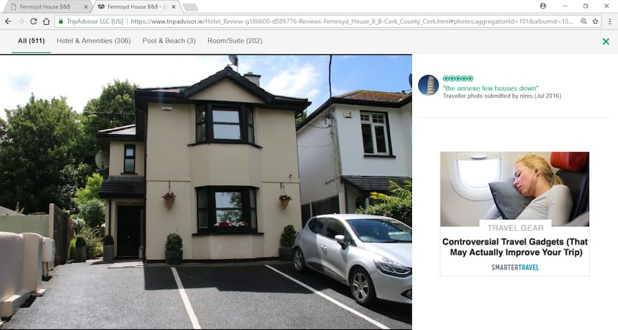 Modern Detached House in Cork City Centre.