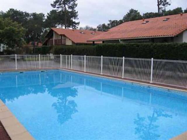 Maison Capbreton Hossegor piscine jardin Plage pkg