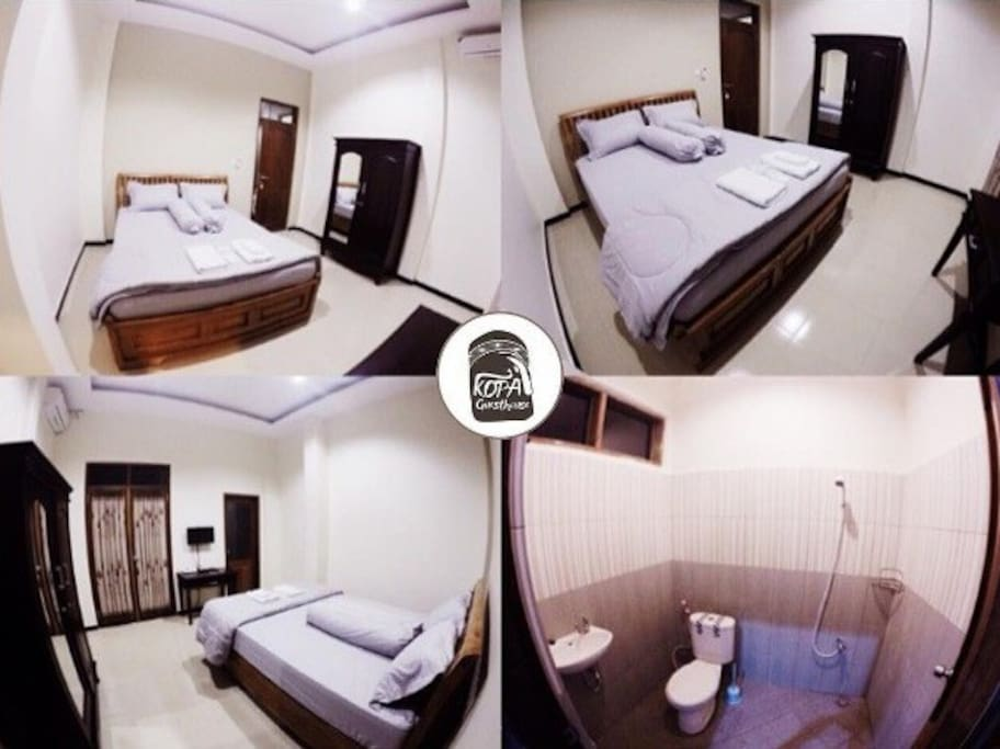 Boti Room  Facilities : Double Bed, TV, Air Conditioning, Free Wifi, Breakfast, Towel, Bath Towel, Slippers, Toothbrush, Shampoo, Soap bar