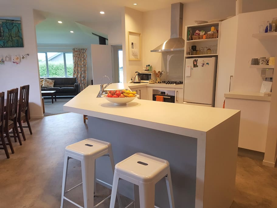 Well-equipped, modern kitchen