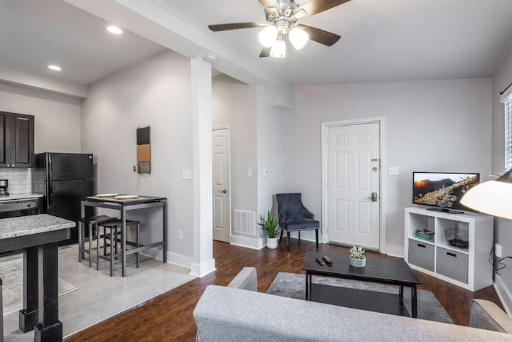 The Lodge - a personal guest suite perfect for your trip to Louisville!