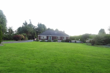 Family home on extensive mature landscaped gardens - Moate