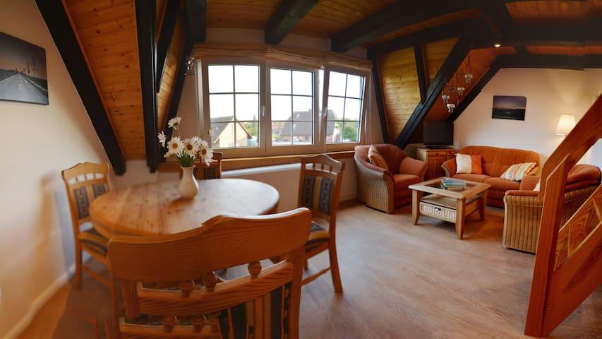 FeWo am Nordsee-Deich - Perfekt für Kinder - Friedrichskoog - Apartment