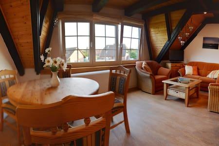 FeWo am Nordsee-Deich - Perfekt für Kinder - Friedrichskoog - 公寓