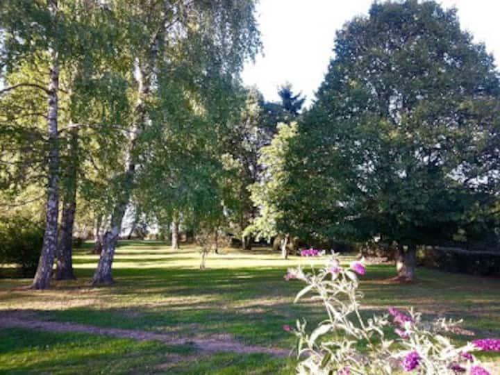 Maison de vacance pour cure de plein air en Creuse