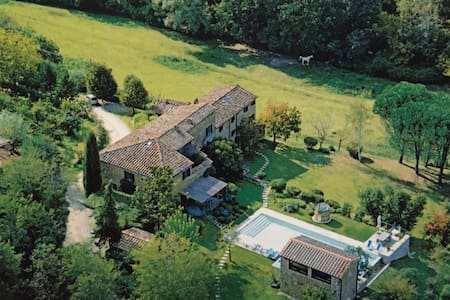 Private apartment with pool - Chianti - Pietraviva