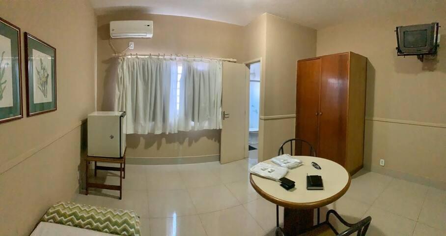 HOTEL EXECUTIVE, SUÍTE C/ AR, A PARTIR DE 80 REAIS