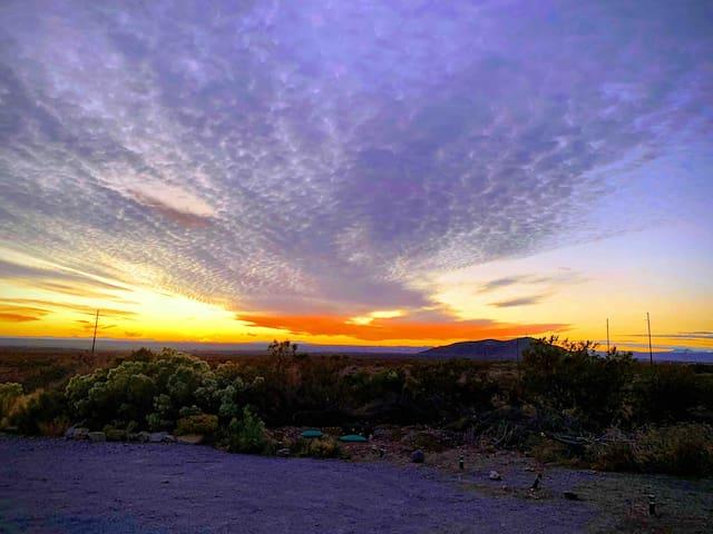 Casita Azul, stunning beauty in the desert.