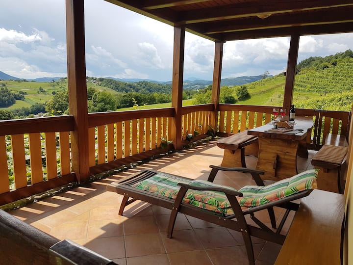 Country House Mirt with Vineyard View