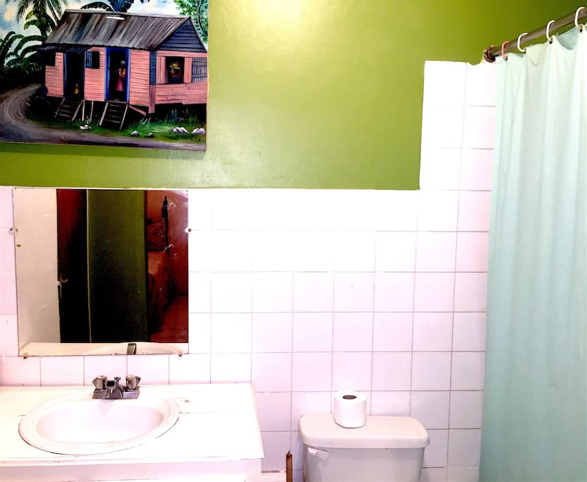 Private bath and toilet.