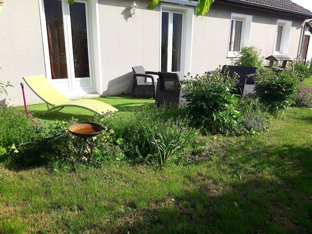 Chambre2 avec petit-déjeuner Rosières près Troyes