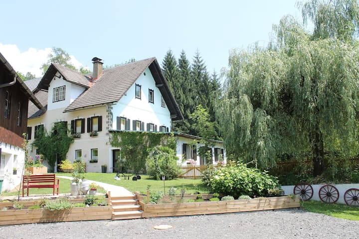Large semi-detached house between Lake Weissensee and Nassfeld ski area