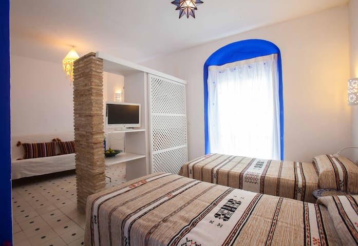 Moroccan style suite at the heart of the old town - Tarifa - Vendégház