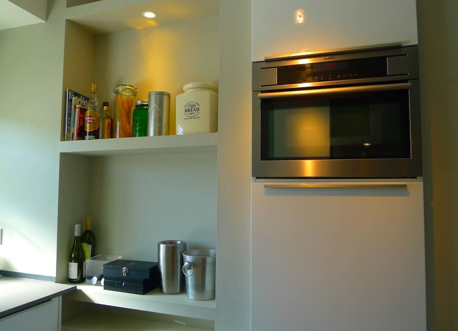 Second oven and microwave