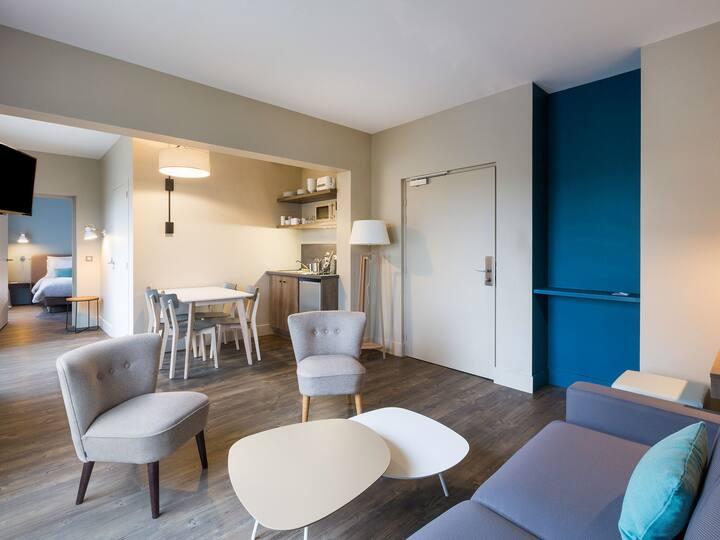 Appartement 45 m² La porte des châteaux
