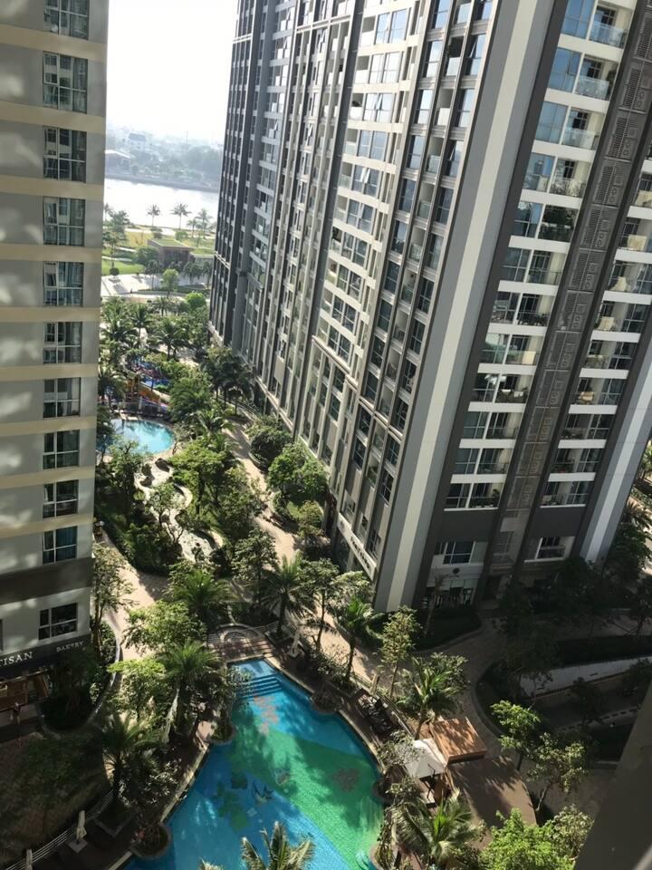 1br Vinhomes , tại toà nhà Park7 tầng 10