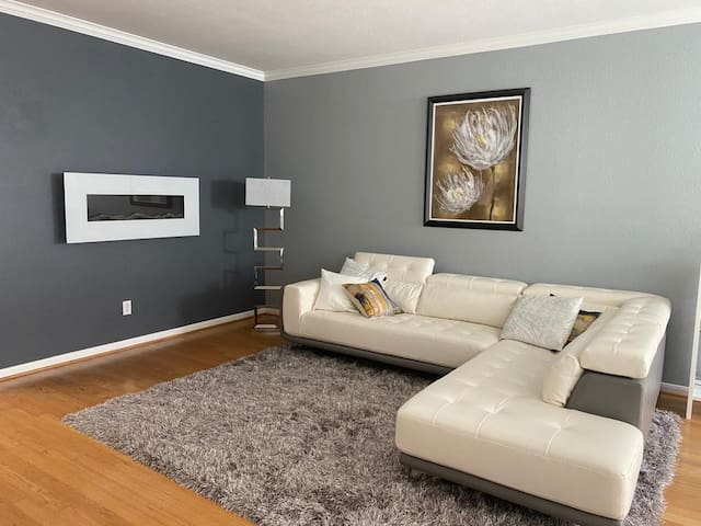 A townhome, 2 bedrooms, 2.5 baths
