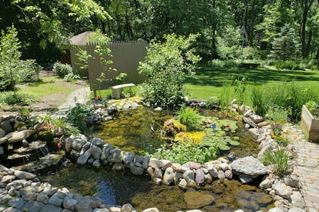 Country Mountain Oasis  w/Frog Pond-Private & Cozy