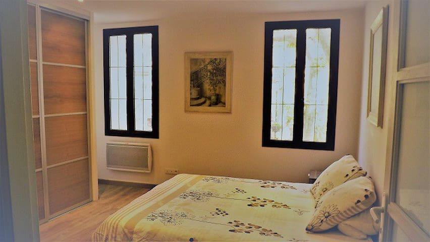 Chambre parentale avec lit 160x200