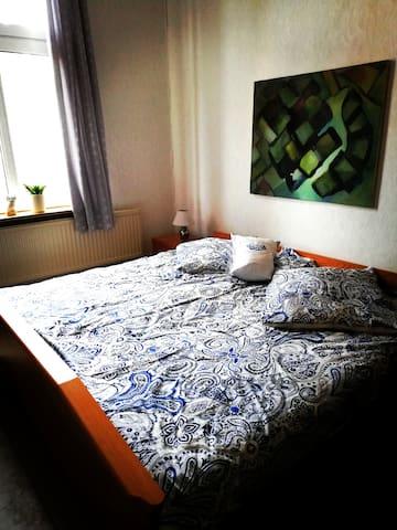 Groot Plaats : Monteurzimmer mit Doppelbett