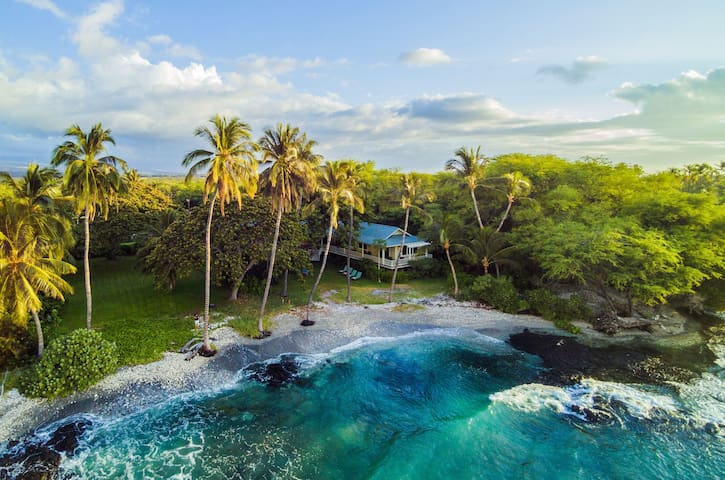 Oceanfront, Luxury, Puako Beach, Estate Home at Puako Bay (74)