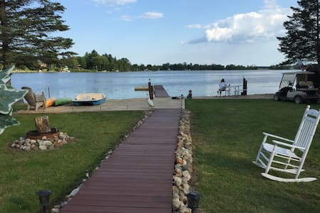 Lakefront 3BR West Branch* SANDY BEACH!*