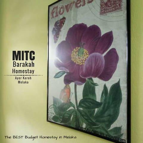 MITC Barakah Homestay, Ayer Keroh, Melaka