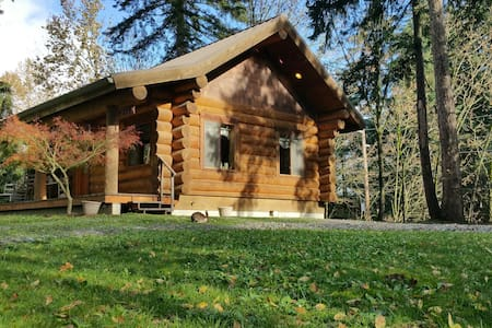 "Cottontail Haven Lodge- your ""get-away"" place - Lake Tapps - Kabin"