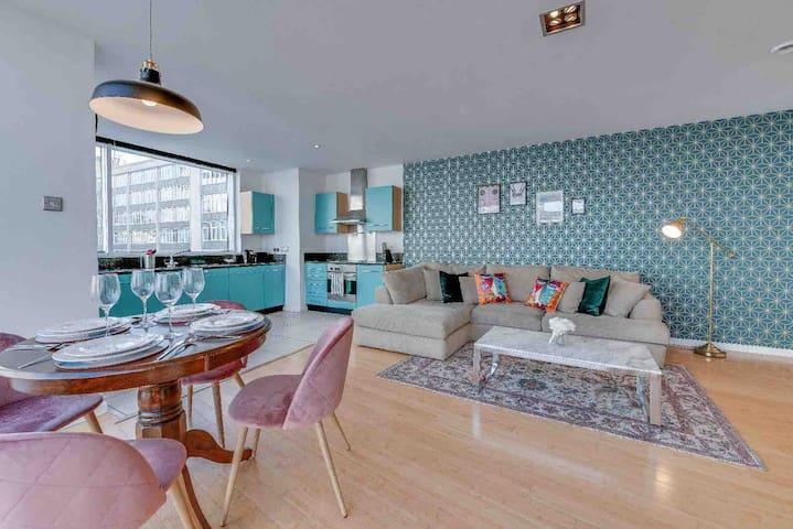 Serene- Prime City Location Luxury 2 Bed Apartment