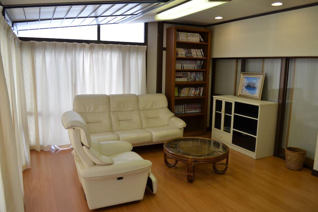 5階リビング 5th Floor living room
