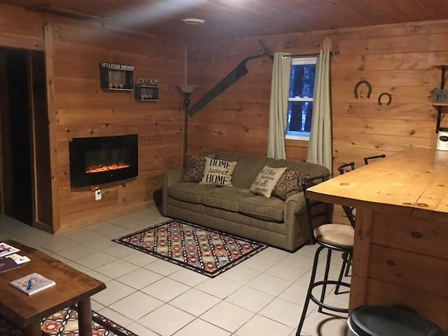 Cozy Cabin Clean! Mushooming Fish Hunt Boating! - Wellston - Cabin