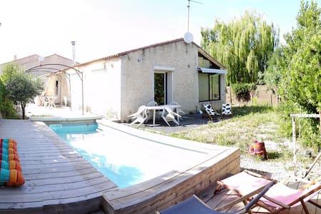 Notre maison dans le sud (chambre privée) - Villa