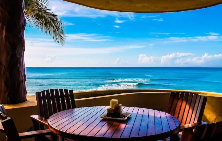 Costa Maya Villas Exclusive condo ocean front 102