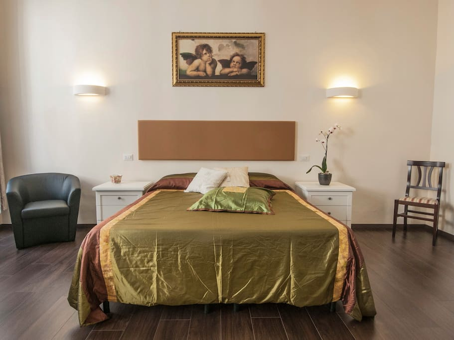 Large bed