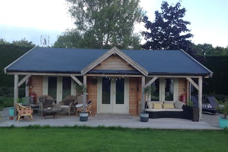 Countryside log cabin