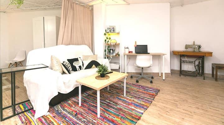 Loft centro Granada + parking privado