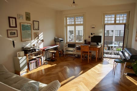 Sunny & central 3room Apartment next to ArtBasel - Basel - Huoneisto