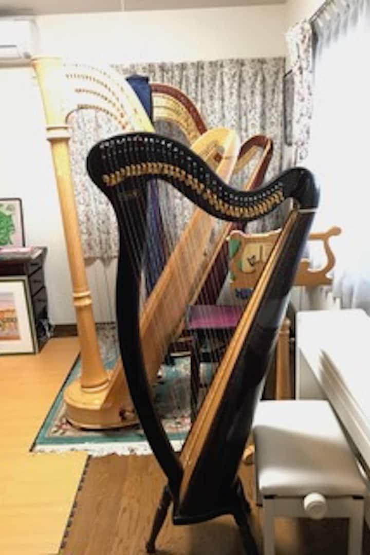 Harp workshop place
