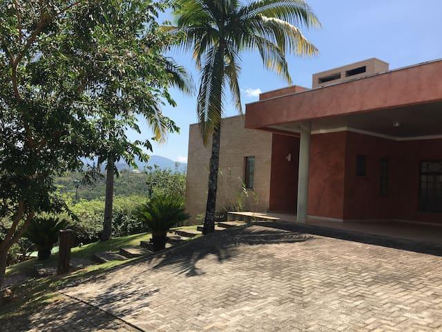 Vista da entrada principal