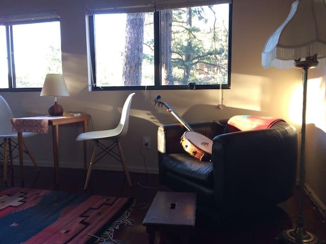 Fun Loft Room in Modernized Cabin