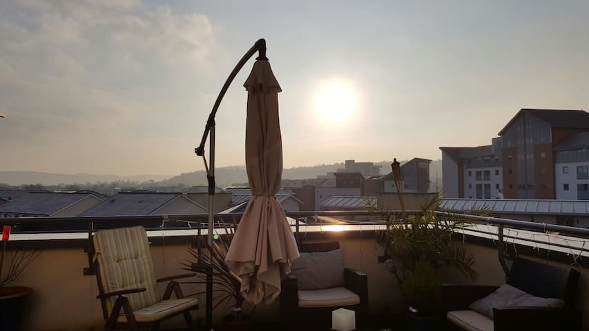 Modern Penthouse Marina Apartment - Portishead - อพาร์ทเมนท์