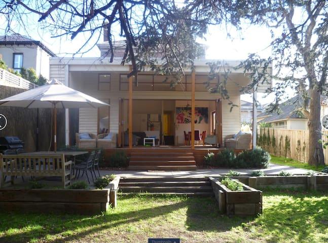 Large South Yarra home near Botanic Gardens & CBD