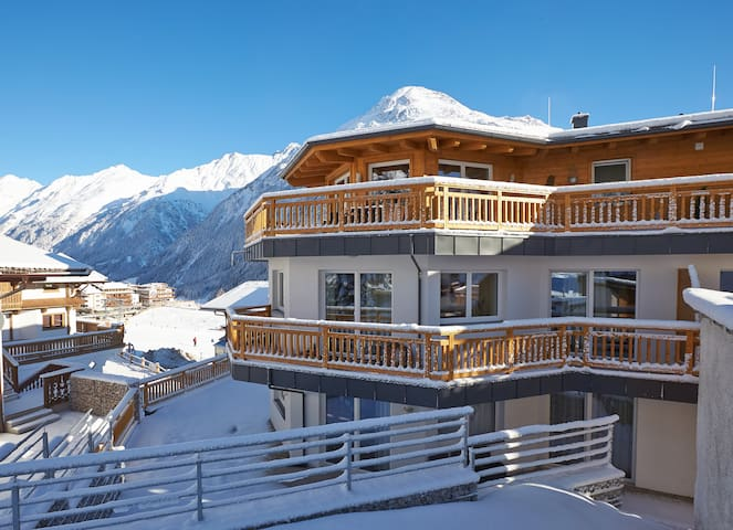 Fantastic location - Ski in-Ski out -Soelden - Sölden - Appartement