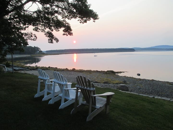 Acadia National Park ocean front & garden cottages