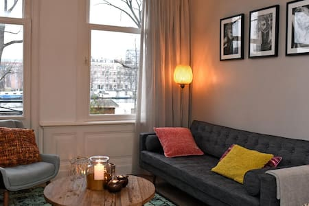 Brand new apartment with view over Amstel river - Amsterdam
