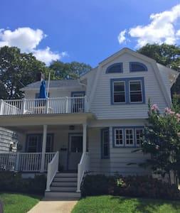 Beautiful Beach House-4 blocks from the beach - Asbury Park - Casa