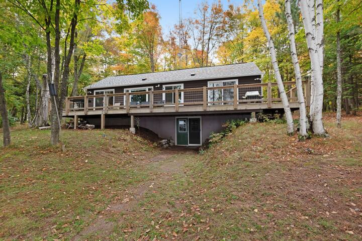 NEW LISTING! Dog-friendly lakefront home w/ Twin Islands views and trail access!