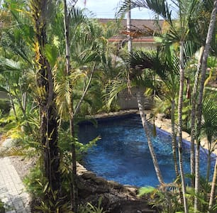 Private room, 2beds, freeWiFi. Pool - Cairns North - Reihenhaus